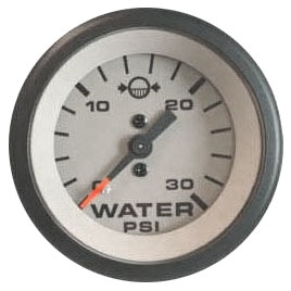 SEASTAR SOLUTION Teleflex Sahara Series Water Pressure Gauge Boat