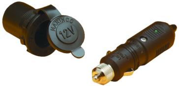 MARINCO Sealink Receptacle & Plug Assy, 12V