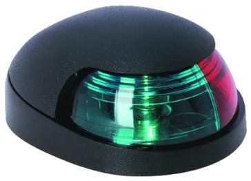 Side Lights - No - Black ATTWOOD Bi-Color Navigation Light Deck Mount