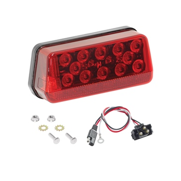 Wesbar LED Wrap Around Taillight Red