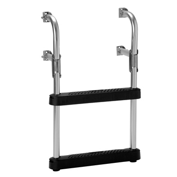 GARELICK Two-Step Transom Ladder Foldable - 2