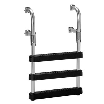 GARELICK Two-Step Transom Ladder Foldable - 3