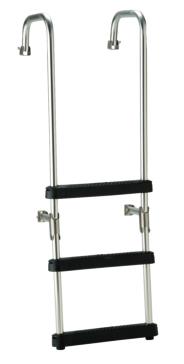 Foldable - 3 GARELICK 3-Step Transom Ladder