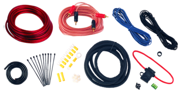 Trousse d'installation pour amplificateur -10 Ga BOSS AUDIO Ensemble d'installation