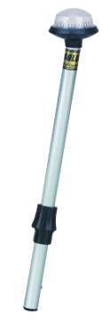 PERKO  Coastal Series Reduced Glare Globe Stern Lights - Clear