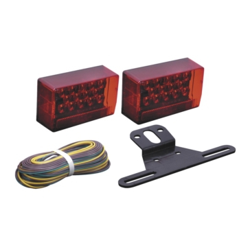 Optronics Waterproof LED Combinaison for Tail Light Red