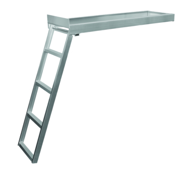 Kimpex Under-Deck Pontoon Ladder Foldable - 4
