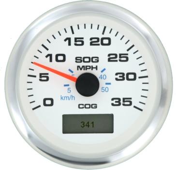 SIERRA GPS Speedometers - 35 MPH Boat