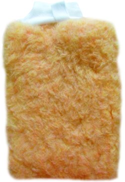 STAR BRITE Wool Wash Mitt with Mesh Side