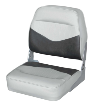 WISE Low Back Boat Seat Fold-Down Seat