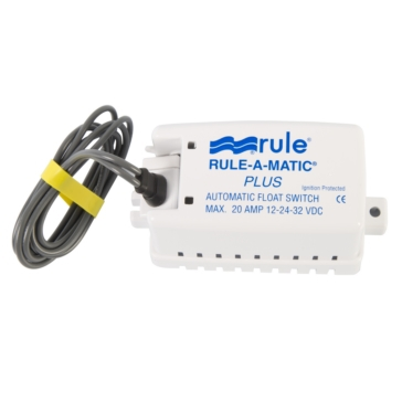 JABSCO RULE Interrupteur de pompe de cale Rule-A-Matic Plus