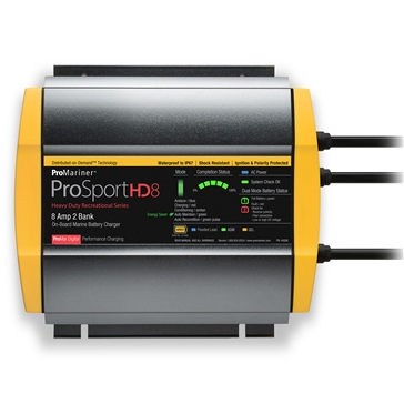 PROMARINER ProSportHD Dual Battery Charger ProSportHD 8 - 709354