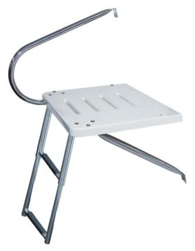Kimpex Transom Platform 1 Arm and Telescopic Ladder Telescopic - 2