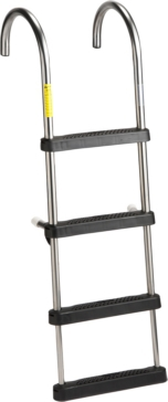 GARELICK Telescoping Stainless Steel Pontoon Ladder Fixed - 4