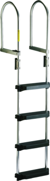 Foldable - 4 GARELICK Dock Raft Ladder – Flip-up Model