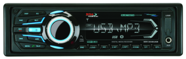 BOSS AUDIO In-Dash AM/FM Audio Receiver, USB/SD, AUX-Input