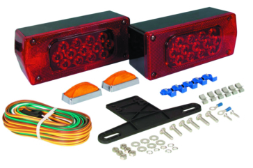 Optronics Tail Light Kit - Driver Side Red