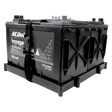 27 T-H MARINE  Dual Battery Holder Tray