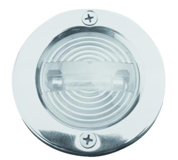 Silver SEA DOG Transom Light - Round