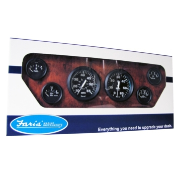 FARIA Euro 6 Gauges Kit