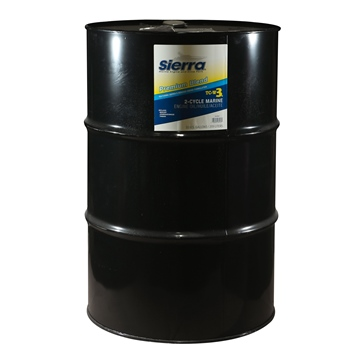 55 gallons SIERRA Premium Blue Oil TC-W3