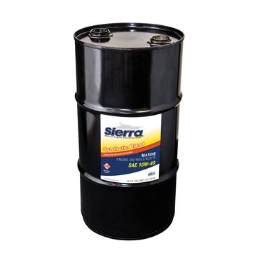 16 gallons SIERRA Oil 10W40 FC-W Semi Synthetic