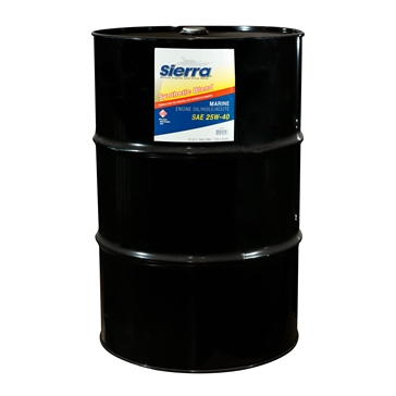 Sierra Synthetic Blend Oil 25W-40 FC-W 208 L / 55 G