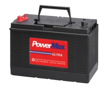POWER MAX Gamme complète de batteries marine et VR DP31DT