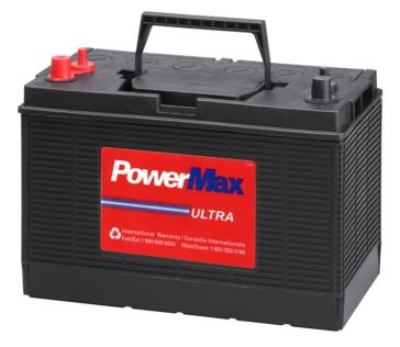 POWER MAX Gamme complète de batteries marine et VR DC31DT