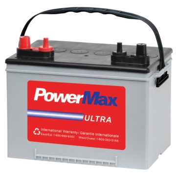 POWER MAX Complete Line of Marine/RV Flooded Batteries 9A34M