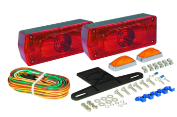 "Optronics Waterproof Aero Pro Over 80"" Tail Light Red"