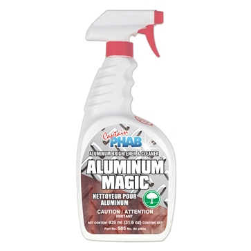 Captain Phab  Nettoyant Aluminum Magic 670 ml