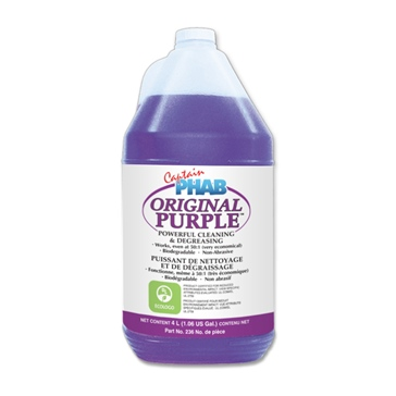 Captain Phab  Purple Power Cleaning Concentrate 4 L / 1.05 G