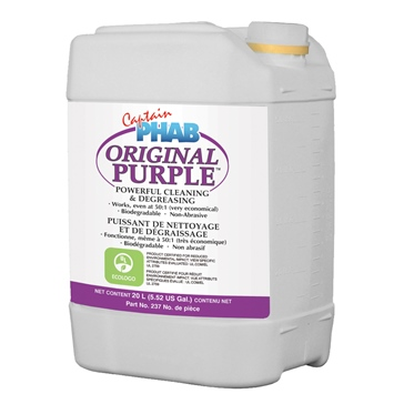 Captain Phab  Purple Power Cleaning Concentrate 20 L