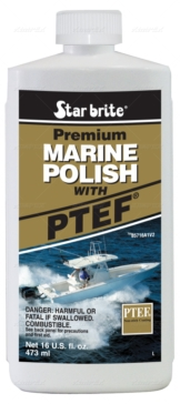 Liquid STAR BRITE Premium Marine Polish With PTFE