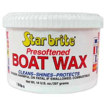 STAR BRITE Presoftened Boat Wax Wax