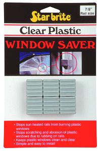 STAR BRITE Clear Plastic Window Saver N/A