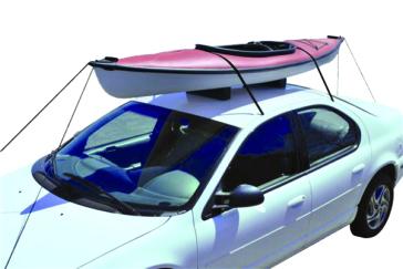 Ensemble de transport de kayak pour toitd'automobile ATTWOOD Kayak