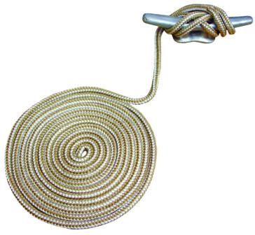 Ligne d'amarrage haut de gamme en nylon doublement tressé ATTWOOD