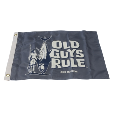 """Old Guys Rule"" TAYLOR MADE Flag, ""Old Guys Rule"""