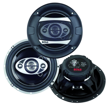 "Boss Audio 400 Watts 6-1/2"" 4-Way Speaker Universal"