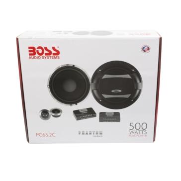 Ensemble d'éléments 6.5 po/500W BOSS AUDIO