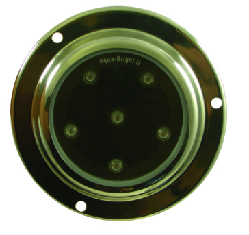 Silver KIMPEX LED Surface Mount Underwater Light
