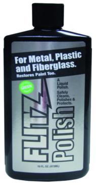 Liquide à polir pour métal, plastique et fibre de verre FLITZ Liquide