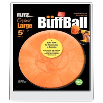Tampon de nettoyage Buff Ball originale - grande (5 po) FLITZ Tampon