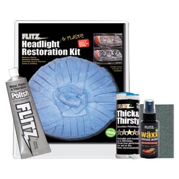 FLITZ Headlight Restoration Kit