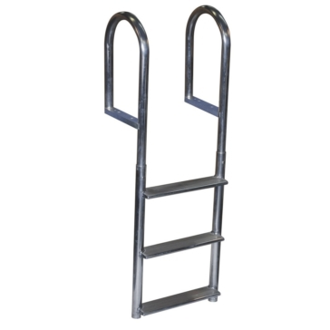 Fixed - 3 DOCK EDGE  Ladder, Dock