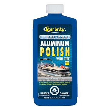 Bottle STAR BRITE Polish, Aluminium Ultimate with PTEF