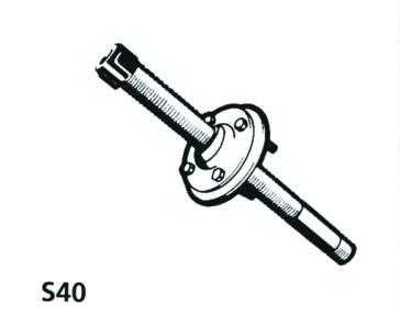 Bloc de serrage  -  S40 UFLEX