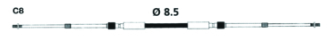 C8 UFLEX Universal 33C Control Cable - C8